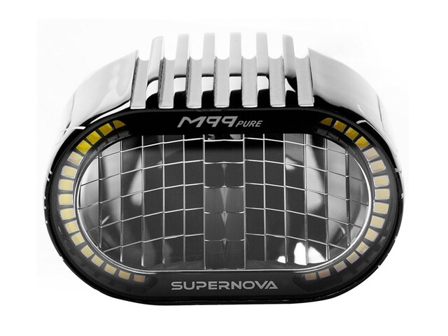 Supernova M99 Pure Frontlicht E-25 schwarz
